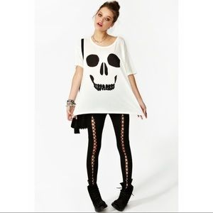 Wildfox Mort Tee NWOT Size M